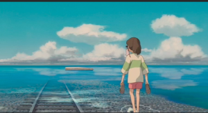 "Water on Tracks (scene from ""Spirited Away"")"