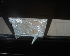 Punched Glass
