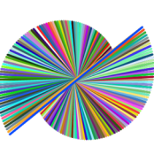 179 degrees (left line spiral)
