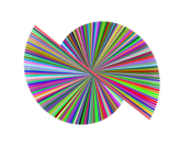 181 degrees (right line spiral)